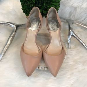 Vince Camuto BC Raccia Leather Pumps